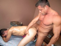 Straight Guy Changes Teams from Massage Bait