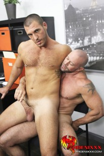 Horny Office Butt Banging from My Gay Boss