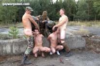 Terrorist Attack Cock from Gay War Games