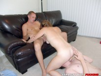 Ass Fucking Three Way from Straight Boys Fucking