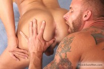 Derek Parker And Logan Vaughn from Cocksure Men