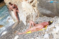 Raw Outdoor Threesome from Staxus