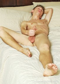 Kellan Lane Busts A Nut from College Dudes