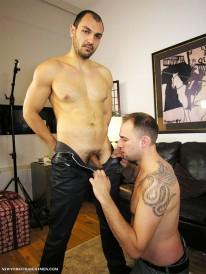 Servicing Srdjan from New York Straight Men