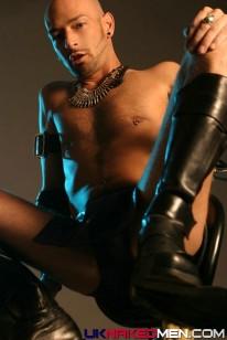 Lees Big Pierced Cock from Uk Naked Men