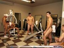 Hot Gym Orgy from Next Door Buddies