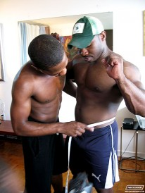 Marc Williams And D Shawn from Next Door Ebony