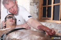 Wrapped Up And Wanked Off from Boynapped