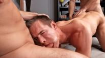 Stu Dan And Aidan Bareback from Sean Cody