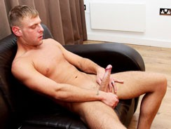 Wanking A Big One With Josh from Blake Mason