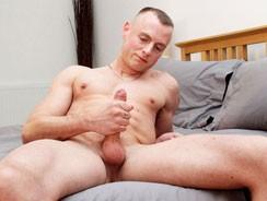 Wanking With Hung Uncut Dean from Blake Mason