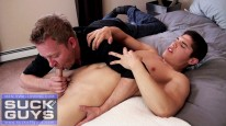 Double Load From Mitchel Knig from Suck Off Guys