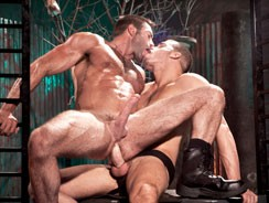 Cock Shot Ty Roderick And Jak from Raging Stallion