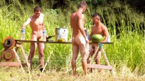 3 Nudist Boys And Their Big from Island Studs