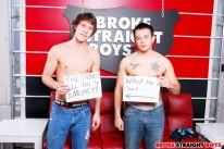 Flint Fucks Paul Bareback from Broke Straight Boys