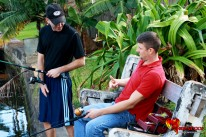 Fishing Buddies Share Tackle from Phoenixxx