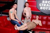 Liam Skyler And Adam 3 Way from Broke Straight Boys