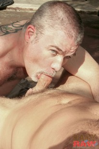 Christian Matthews And Alex P from Hairy And Raw