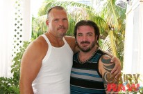 Brock Hart And Rock Ramsey from Hairy And Raw