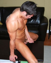 Adam Campbell Busts A Nut from College Dudes