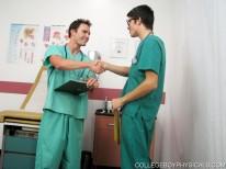 Nurse Aj from College Boy Physicals
