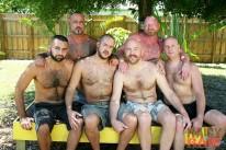 Florida Gang Bang from Hairy And Raw
