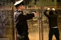 Officer Stevens And Masked from Bound Gods