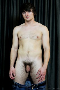 Curved Dick And A Bush from The Guy Site