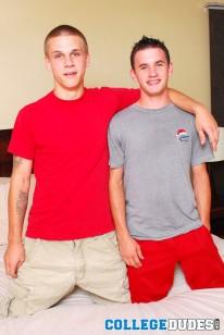 Caleb Johnson And Trent Ferri from College Dudes