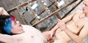 Punk Waxing British Boys from Boynapped