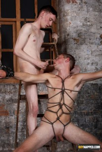 Tied Down And Fucked Hard from Boynapped
