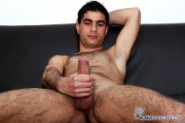 Hairy Sam Wanks One Out from Blake Mason
