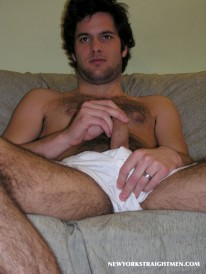 Jerking With Francis from New York Straight Men