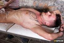 Wax And Wank For Adam Watson from Boynapped