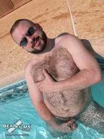 Steve In The Pool from Bear Films