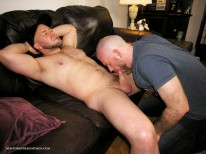 Blowing Daves Horn from New York Straight Men
