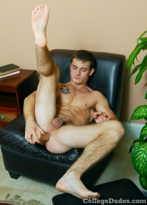 Eddie Blake And His Dildo from College Dudes