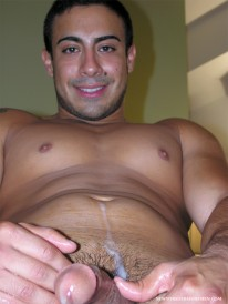 Victor Shows Off from New York Straight Men