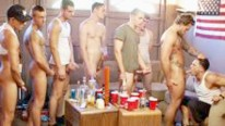 8 Dude Gangbang from Fraternity X