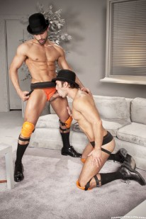 Cockwork D.o And Alexander Ga from Raging Stallion