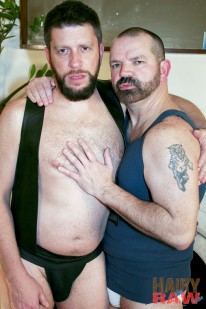Randy Scott And Rob Hunter from Hairy And Raw