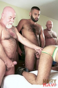 Pablo Paris Bottoms For Five from Hairy And Raw