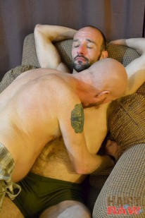 Jayden And Buster from Hairy And Raw