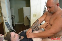 Joe Strong And Rowdy Hixxx from Hairy And Raw