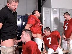 Football Fuckdown Part3 Scen1 from Jizz Orgy By Men