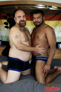 Dj Russo And Rico Vega from Hairy And Raw