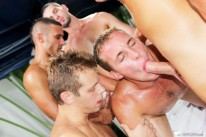 Pool Side Male Orgy from Bath House Bait