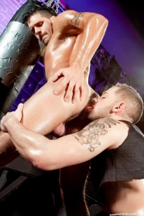 Ty Roderick And Tyler Wolf from Raging Stallion