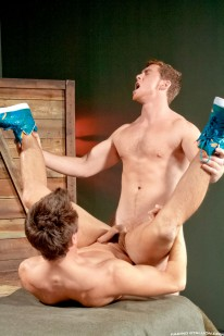 Connor Maguire And Wolfie Blu from Raging Stallion