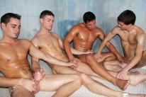 Hot Sauna Sporking from Gay Room